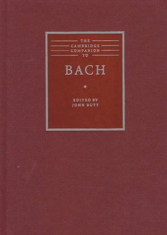 9780521453509: The Cambridge Companion to Bach (Cambridge Companions to Music)