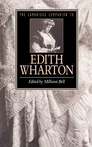 9780521453585: The Cambridge Companion to Edith Wharton Hardback (Cambridge Companions to Literature)