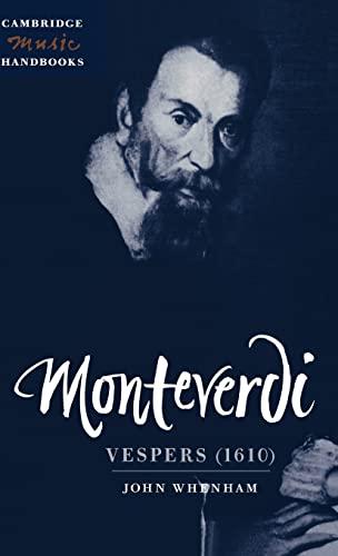 9780521453776: Monteverdi: Vespers (1610) (Cambridge Music Handbooks)
