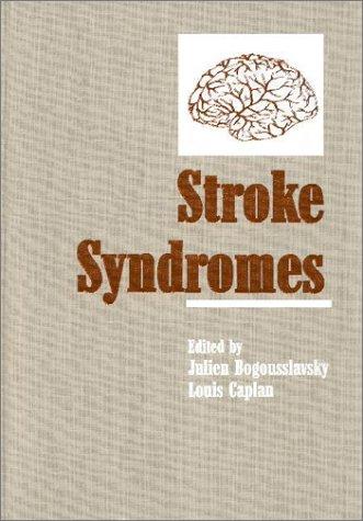 9780521453974: Stroke Syndromes