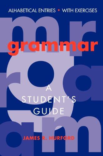 9780521454094: Grammar: A Student's Guide