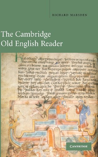 9780521454261: The Cambridge Old English Reader