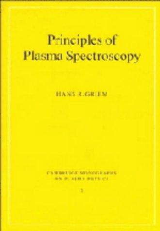 9780521455046: Principles of Plasma Spectroscopy (Cambridge Monographs on Plasma Physics)