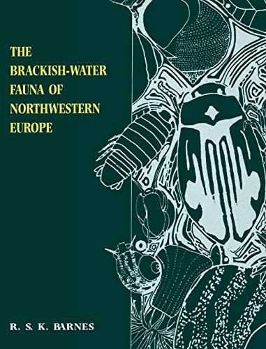 9780521455299: The Brackish-Water Fauna of Northwestern Europe