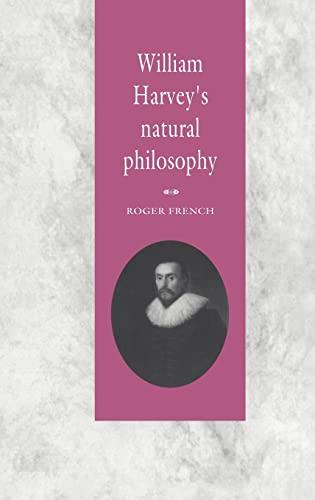 9780521455350: William Harvey's Natural Philosophy