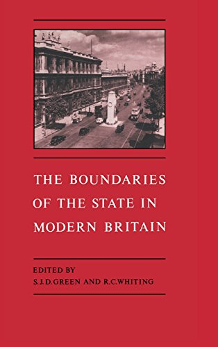 9780521455374: The Boundaries of the State in Modern Britain