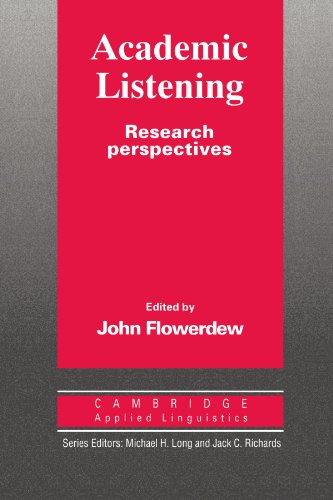 9780521455510: Academic Listening: Research Perspectives (Cambridge Applied Linguistics)