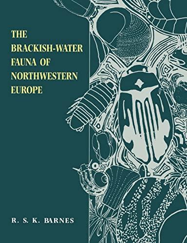 9780521455565: The Brackish-Water Fauna of Northwestern Europe
