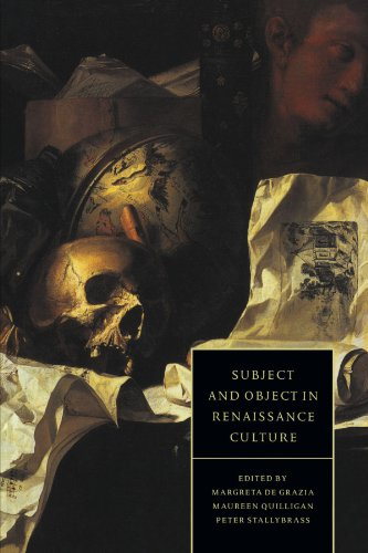 9780521455893: Subject and Object in Renaissance Culture (Cambridge Studies in Renaissance Literature and Culture)