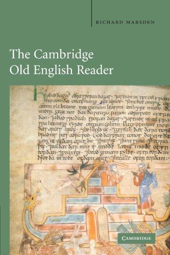 The Cambridge Old English Reader: Richard Marsden