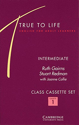 9780521456296: True to Life Intermediate Class Audio Cassette Set (3 Cassettes): English for Adult Learners