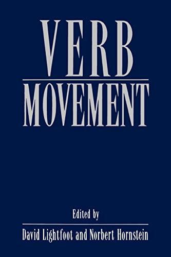 9780521456616: Verb Movement