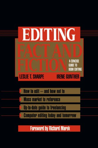 9780521456937: Editing Fact and Fiction: A Concise Guide to Book Editing