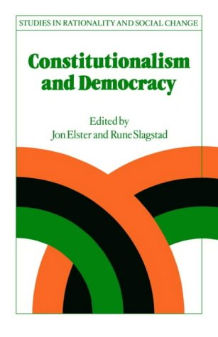 9780521457217: Constitutionalism and Democracy (Studies in Rationality and Social Change)