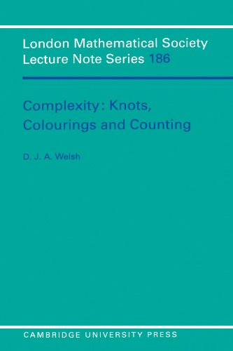 9780521457408: Complexity: Knots, Colourings and Countings (London Mathematical Society Lecture Note Series)