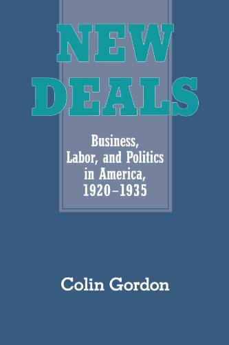 9780521457552: New Deals: Business, Labor, and Politics in America, 1920-1935