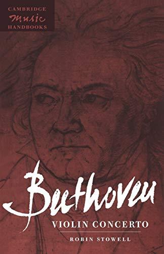 9780521457750: Beethoven: Violin Concerto (Cambridge Music Handbooks)