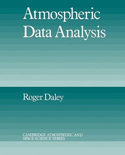 9780521458252: Atmospheric Data Analysis (Cambridge Atmospheric and Space Science Series)