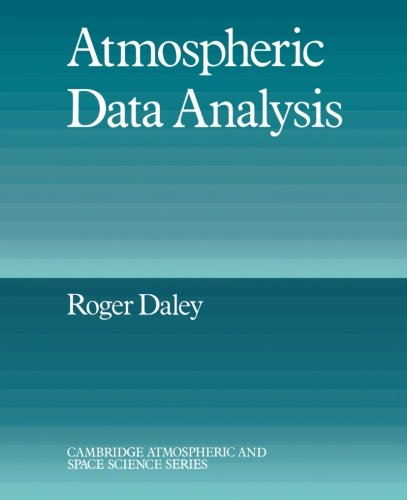 9780521458252: Atmospheric Data Analysis (Cambridge Atmospheric and Space Science Series)