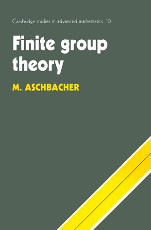 9780521458269: Finite Group Theory (Cambridge Studies in Advanced Mathematics)