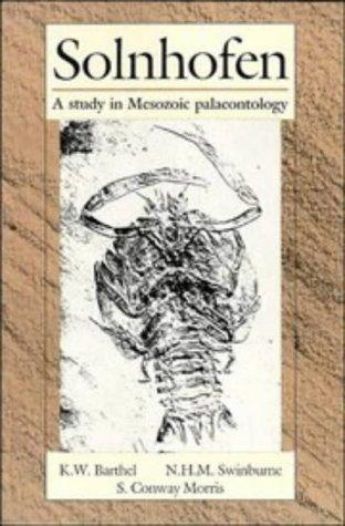9780521458306: Solnhofen: A Study in Mesozoic Palaeontology