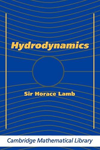 9780521458689: Hydrodynamics (Cambridge Mathematical Library)