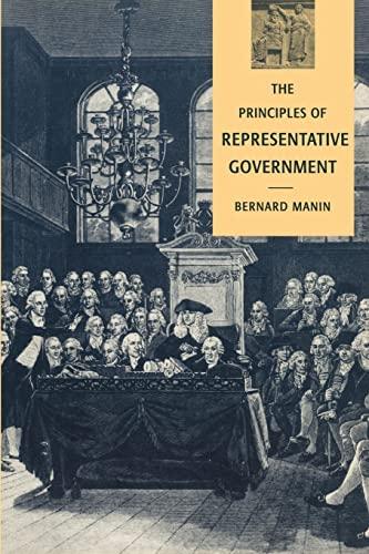 9780521458917: The Principles of Representative Government