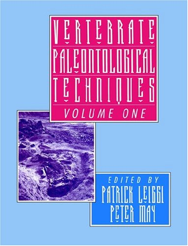 9780521459006: Vertebrate Paleontological Techniques: Volume 1