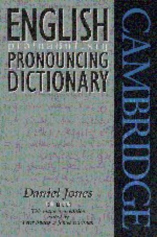 9780521459037: English Pronouncing Dictionary