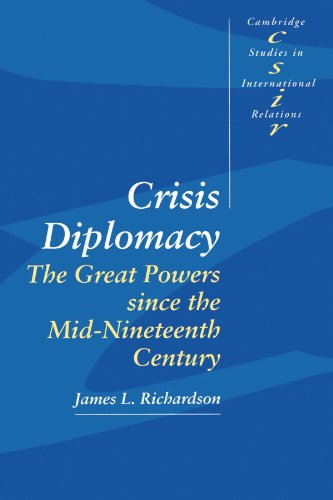 9780521459877: Crisis Diplomacy: The Great Powers Since the Mid-Nineteenth Century (Cambridge Studies in International Relations)