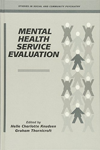 9780521460880: Mental Health Service Evaluation (Studies in Social and Community Psychiatry)