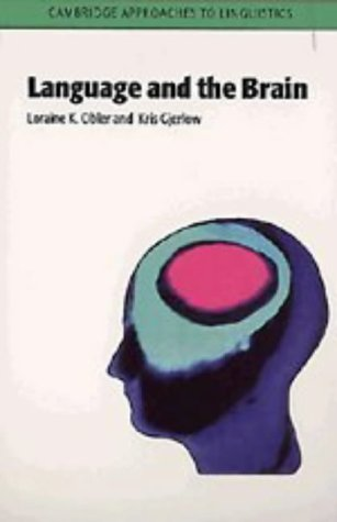 9780521460958: Language and the Brain (Cambridge Approaches to Linguistics)