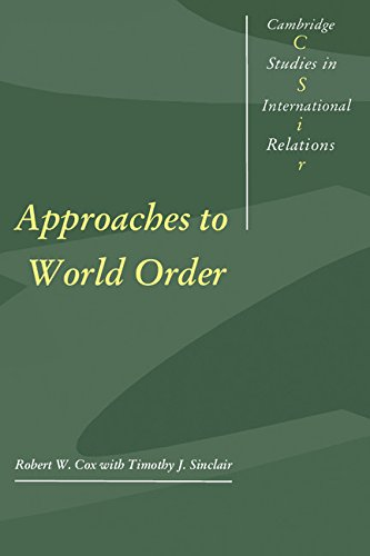 9780521461146: Approaches to World Order (Cambridge Studies in International Relations)