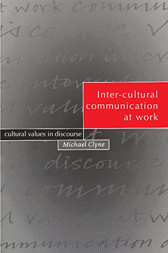 9780521461375: Inter-cultural Communication at Work: Cultural Values in Discourse