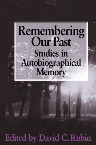 9780521461450: Remembering our Past: Studies in Autobiographical Memory