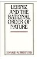 9780521461559: Leibniz and the Rational Order of Nature