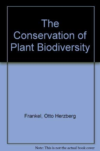9780521461658: The Conservation of Plant Biodiversity