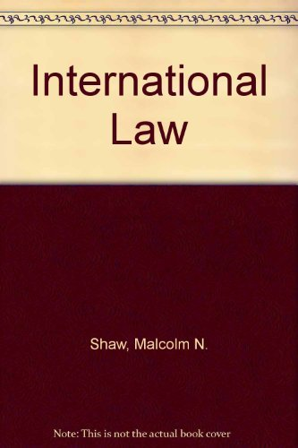 9780521463164: International Law