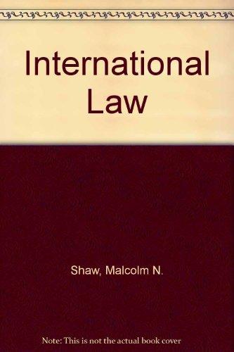 9780521463164: International Law