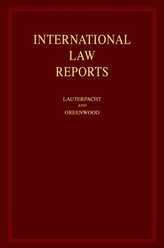 9780521463980: International Law Reports: Volume 53