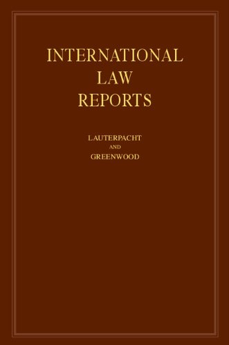 9780521464307: International Law Reports (Volume 85)