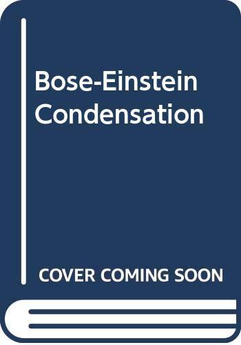 9780521464734: Bose-Einstein Condensation