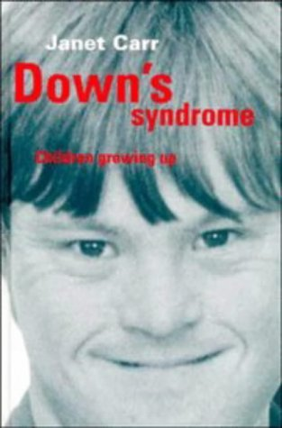 9780521465328: Down's Syndrome: Children Growing Up