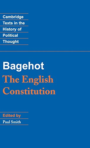 9780521465359: Bagehot: The English Constitution (Cambridge Texts in the History of Political Thought)