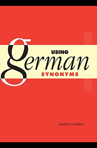 9780521465526: Using German Synonyms