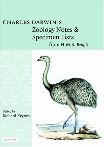 9780521465694: Charles Darwin's Zoology Notes and Specimen Lists from H. M. S. Beagle