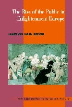 9780521465731: The Rise of the Public in Enlightenment Europe