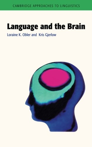 9780521466417: Language and the Brain (Cambridge Approaches to Linguistics)