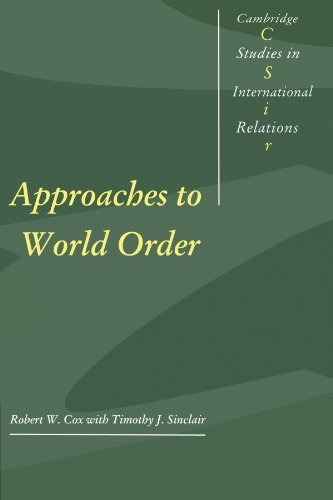 9780521466516: Approaches to World Order (Cambridge Studies in International Relations)