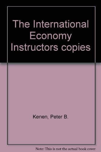 9780521466790: The International Economy Instructors copies